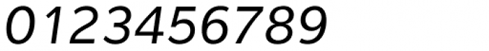 Interval Sans Pro Italic Font OTHER CHARS