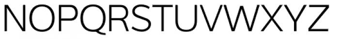 Interval Sans Pro Light Font UPPERCASE
