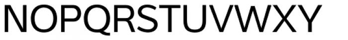 Interval Sans Pro Regular Font UPPERCASE
