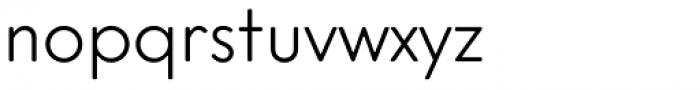 Intervogue Soft Alt Light Font LOWERCASE