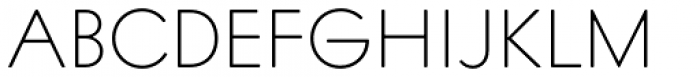 Intervogue Soft Alt Thin Font UPPERCASE