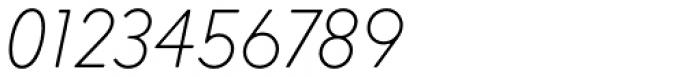 Intervogue Soft Thin Oblique Font OTHER CHARS