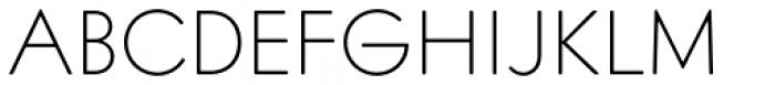 Intervogue Soft Thin Font UPPERCASE