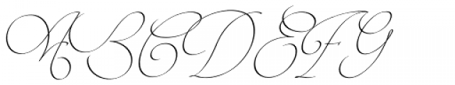 Intima Script Two Font UPPERCASE