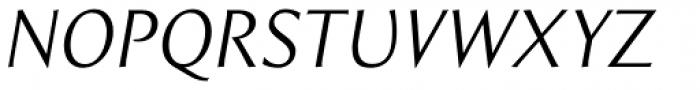 Intrinseca Book Italic Font UPPERCASE