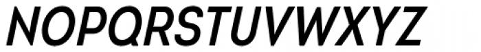 Intro Cond SemiBold Italic Font UPPERCASE