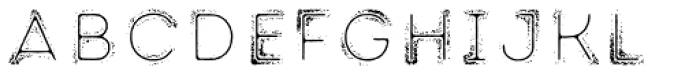 Intro Rust G Fill 2 Line Font LOWERCASE