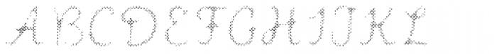 Intro Script B H1 Font UPPERCASE