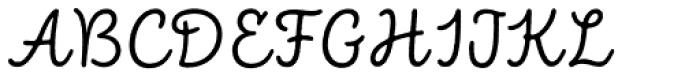 Intro Script R Base Font UPPERCASE