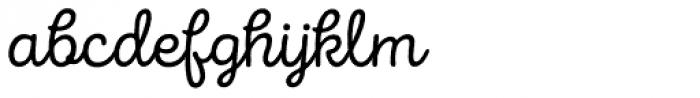 Intro Script R Base Font LOWERCASE