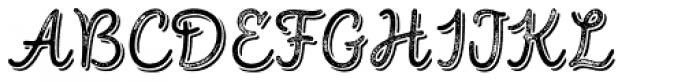 Intro Script R G Base Shade Font UPPERCASE