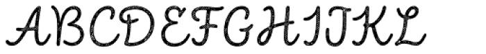 Intro Script R H2 Base Font UPPERCASE