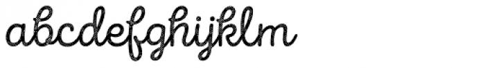 Intro Script R H2 Base Font LOWERCASE