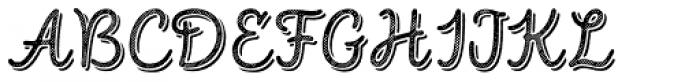 Intro Script R L Base Shade Font UPPERCASE