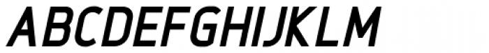 Intropol ExtraBold Italic Font UPPERCASE
