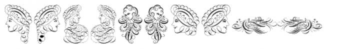 Invitation Script Ornaments Font OTHER CHARS