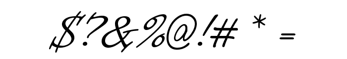 Informal Roman Font OTHER CHARS