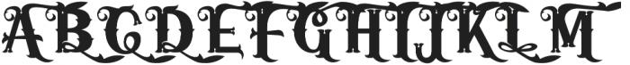 Iorek Byrnison ornate otf (400) Font UPPERCASE