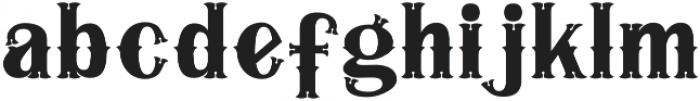 Iorek Byrnison otf (400) Font LOWERCASE