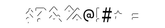 IomanoidShine-Regular Font OTHER CHARS