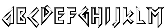 Iomanoid Font LOWERCASE