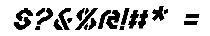 Iori Italic Font OTHER CHARS