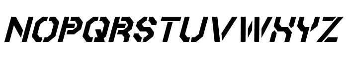 Iori Italic Font UPPERCASE