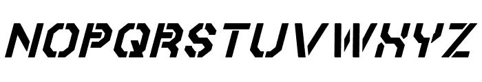 Iori Italic Font LOWERCASE