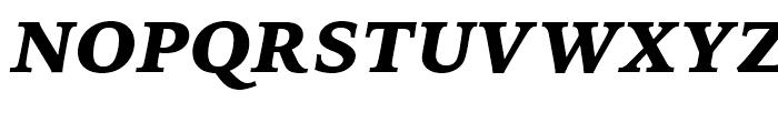Iowan Old Style BT Black Italic OSF Font UPPERCASE