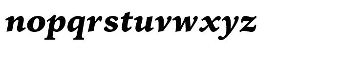 Iowan Old Style BT Black Italic OSF Font LOWERCASE
