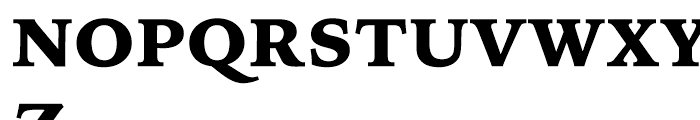 Iowan Old Style BT Black OSF Font UPPERCASE