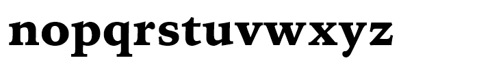 Iowan Old Style BT Black OSF Font LOWERCASE