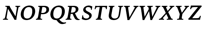 Iowan Old Style BT Bold Italic OSF Font UPPERCASE