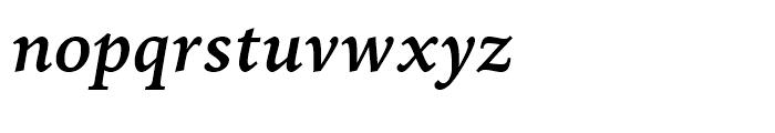 Iowan Old Style BT Bold Italic Font LOWERCASE