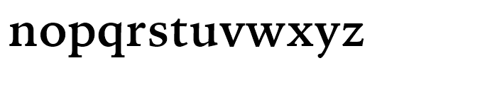 Iowan Old Style BT Bold Font LOWERCASE
