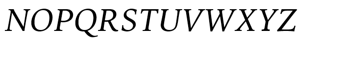 Iowan Old Style BT Italic OSF Font UPPERCASE