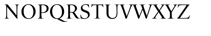 Iowan Old Style BT Titling Font UPPERCASE