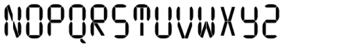 ION A Regular Font UPPERCASE