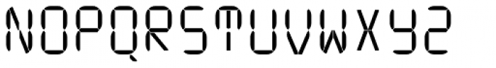 ION B Light Font UPPERCASE