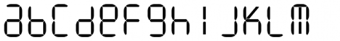 ION B Light Font LOWERCASE