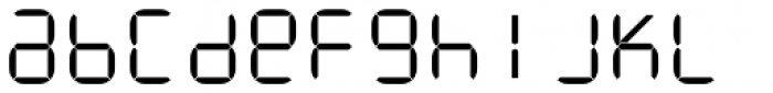 ION C Light Font LOWERCASE
