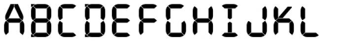 ION C Medium Font UPPERCASE