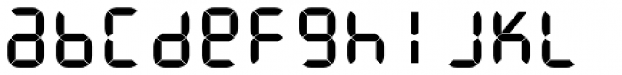 ION C Medium Font LOWERCASE
