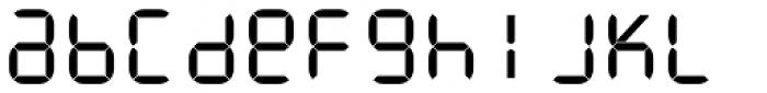 ION C Regular Font LOWERCASE