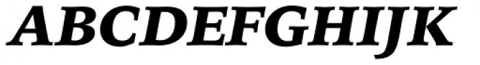 Iowan Old Style BT Black Italic Font UPPERCASE