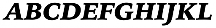 Iowan Old Style Pro Black Italic Font UPPERCASE