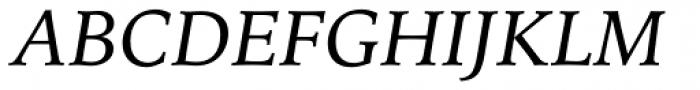 Iowan Old Style Pro Italic Font UPPERCASE