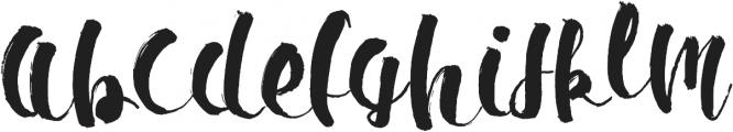 Ipsum Script ttf (400) Font UPPERCASE