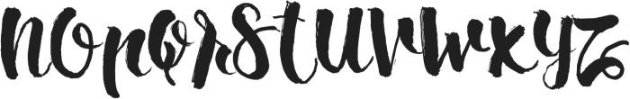 Ipsum Script ttf (400) Font LOWERCASE