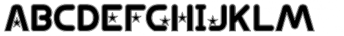 Ipoint Star B College Font UPPERCASE